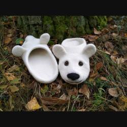 "Тапочки ""Белый Медведь"""