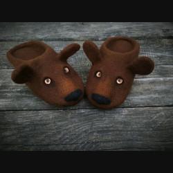 "Тапочки ""Бурый Медведь"""