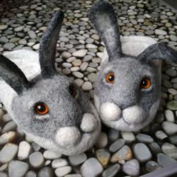 """Тапочки """"Кролики"""""""