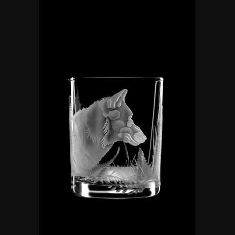 """Стакан для виски """"Волк"""""""