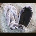 "Варежки ""Кролик-серый"" замша"