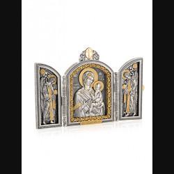 Складень «Тихвинская Богоматерь»
