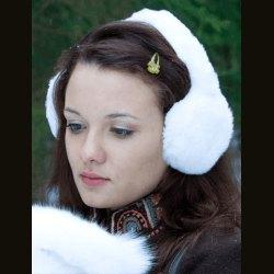 "Наушники ""Кролик"" белый"