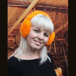 Наушники оранжевые