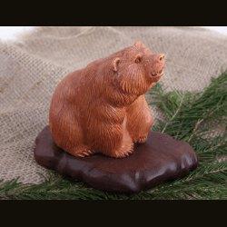 Медведь оранжевый