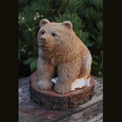 """Композиция """"Медведь с рыбой"""""""
