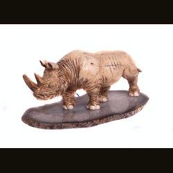 "Статуэтка ""Носорог"" на подставке"