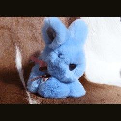 "Сувенир ""Кролик"" маленький голубой"