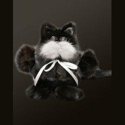 Сувенир «Кот в штанах» средний черный