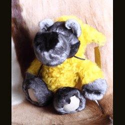 """Сувенир """"Волк в овечьей шкуре"""" желтый"""