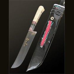 """Нож """"Белая кость сухма"""" в чехле"""