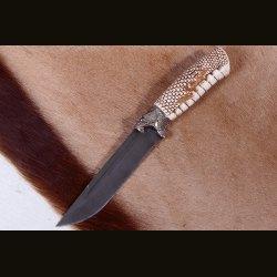 """Нож """"Финский-3"""", рукоять - голова кобры"""