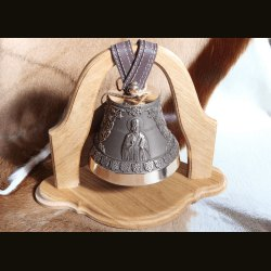 "Бронзовый колокол на подставке ""Николай Чудотворец"""