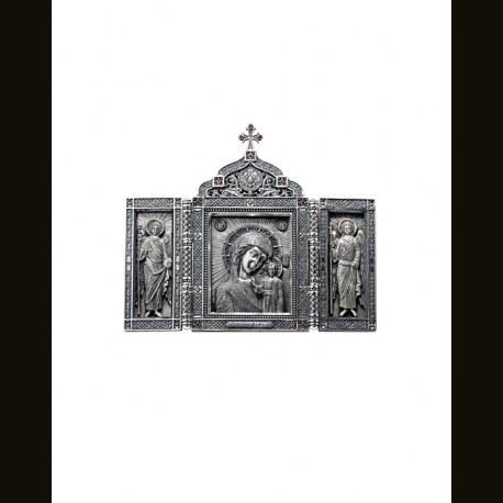 Трехстворчатый складень «Казанская Богоматерь»