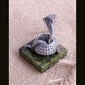 "Серебряная статуэтка ""Змея-Кобра"""
