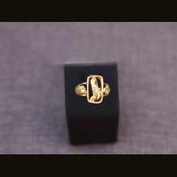 "Кольцо с самородкамм и бриллиантом ""КЖ038"""