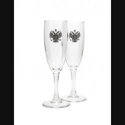 Набор бокалов под шампанское «Держава»