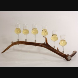 Набор бокалов 6шт для коньяка на подставке