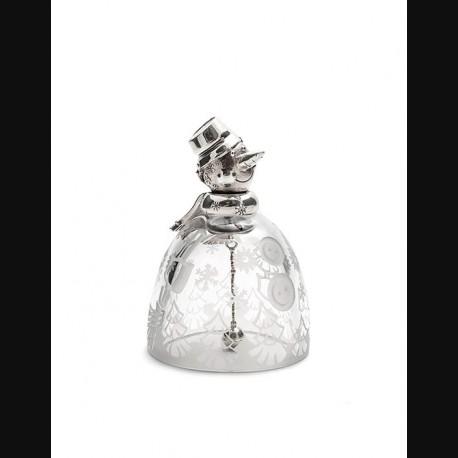 Колокольчик «Хрустальный снеговик»