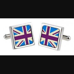 "Запонки ""Британский флаг"""