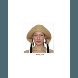 Шляпа соломенная женская