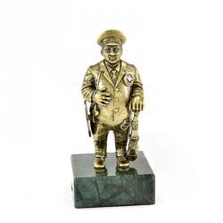 "Статуэтка ""Полицейский"" на камне"