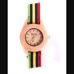 """Часы """"Organic Siberian"""" с цветным ремешком светлые"""