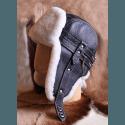 """Шлем """"Arctic Spirit"""" черный с ремешками"""