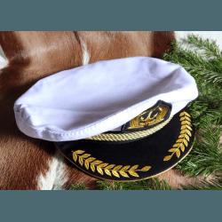"Капитанка ""Адмиралка"" белая"