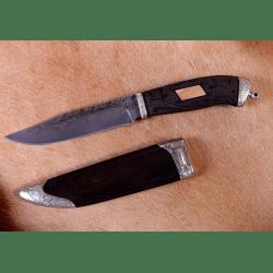 """Нож """"Финский-2"""" рукоять с узорами"""