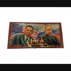 """Нарды большие """"Путин и Обама"""""""
