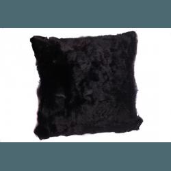 """Подушка """"Кролик"""" черная"""
