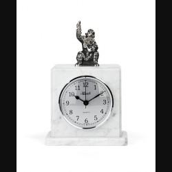 """Часы каминные """"Время рыбачить"""""""