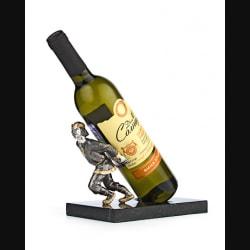 "Подставка под винную бутылку ""Своя ноша не тянет"""