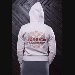 """Толстовка женская """"РФ"""""""
