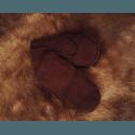"Варежки мужские ""Овчина"" коричневый"